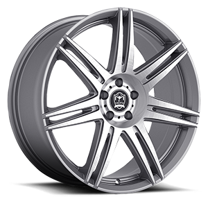 Motiv Luxury Wheels 414 Modena 5 Anthracite with Brushed Face