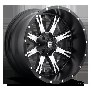 Fuel 1-Piece Wheels Nutz - D541