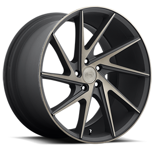 Invert - M163 Black & Machined with Dark Tint 20x10.5 5 lug
