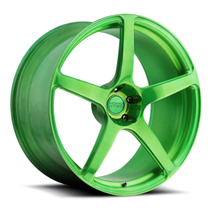 Scuderia 5 5 Hi Luster Polish | Transparent Candy Green
