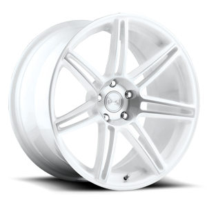 Lucerne 5 Gloss White and Machined