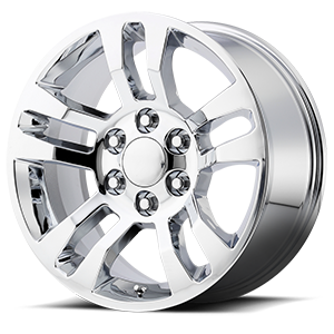 175 Chrome 6 lug