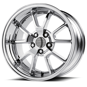 118 Chrome 5 lug