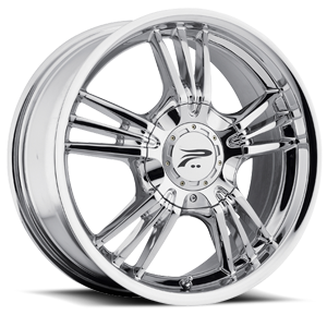 122 Wolverine Chrome 4 lug