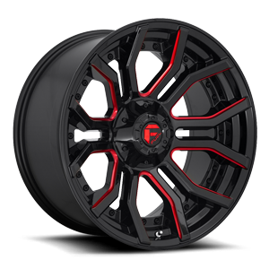 Fuel 1-Piece Wheels Rage - D712