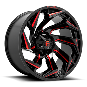 Fuel 1-Piece Wheels Reaction - D755