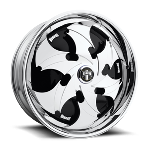 Reactor - S803 Chrome 5 lug