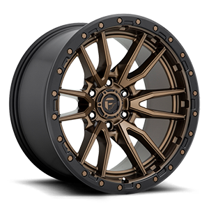 Fuel 1-Piece Wheels Rebel 6 - D681