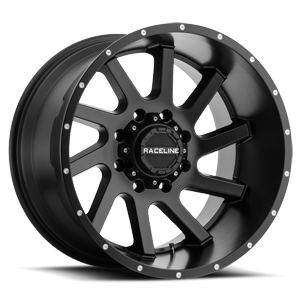 932 Twist Satin Black - 20x12 8 lug