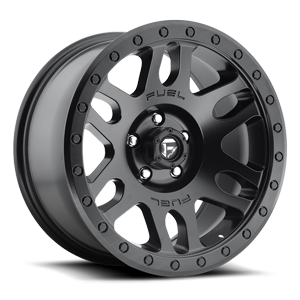 Recoil - D584 Matte Black 5 lug