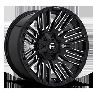 Fuel 1-Piece Wheels Schism - D649