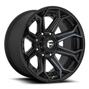 Siege - D704 8 Gloss Black/Brushed Gloss DDT