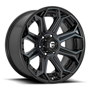 Siege - D704 6 Gloss Black/Brushed Gloss DDT
