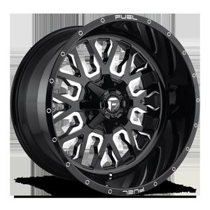 Fuel 1-Piece Wheels Stroke - D611