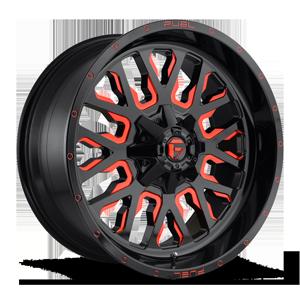 Fuel 1-Piece Wheels Stroke - D612