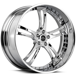 SV32-S Chrome 5 lug