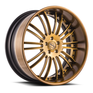 Savini Forged SV66-XLT 5 Bronze Center, Bronze Lip