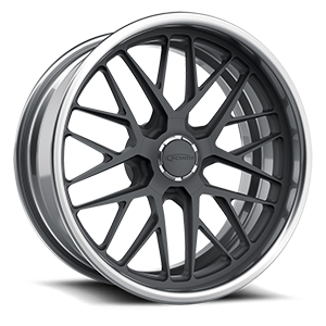 Grid s.concave Gray and Brushed 5 lug