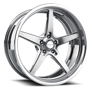 Rail eXL s.concave Brushed and Polished 5 lug