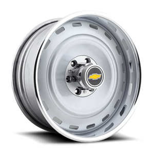 Sierra - U706 6 Lug Crushed Silver | Polished Lip 6 lug