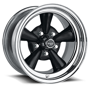 Supreme (Series 483) Black/Chrome Rim 5 lug