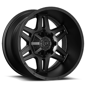 538 Satin Black 5 lug
