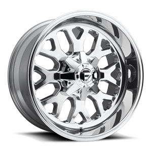 Fuel 1-Piece Wheels Titan - D586
