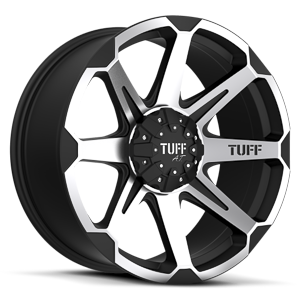 T05 Flat Black w/ Machined Face 5 lug