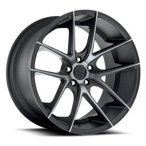 Targa - M130 Black & Machined with Dark Tint 5 lug
