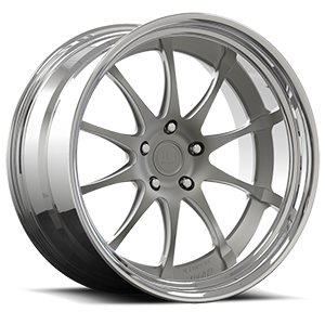 PT.2 - U380 Textured Gun Metal 5 lug