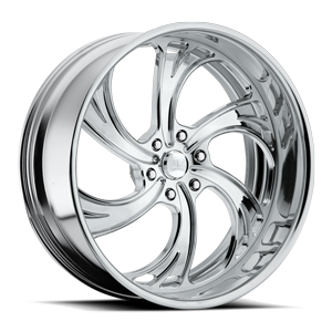 Cheyenne 6 - US414 Polished 6 lug