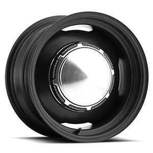 Chrysler OE (Series 658) Matte Black 5 lug