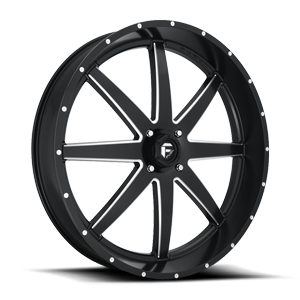 Maverick - D538 - UTV 30x6 | Black & Milled