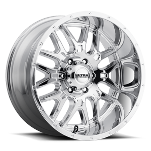 203 Hunter 6 Chrome - 20x10