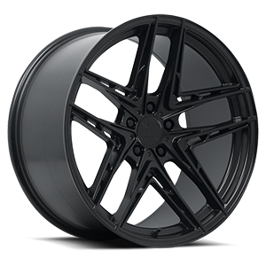 Verde Wheels V12 Incise 5 Satin Black