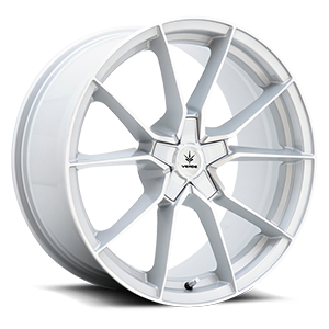 Verde Wheels V18 Verve 5 Gloss Silver Machined