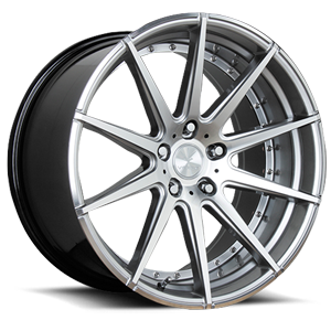 Verde Wheels V20 Insignia 5 Gloss Hyper Silver Machined