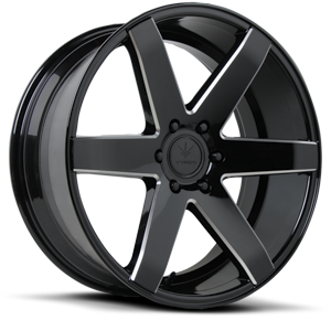 Verde Wheels V24 Invictus 5 Gloss Black Milled
