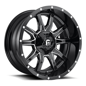 Vandal - D627 5 Gloss Black & Milled