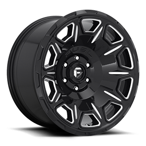 Fuel 1-Piece Wheels Vengeance - D688