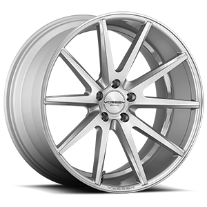 Vossen VFS-1 5 Silver with Brushed Face
