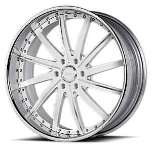 VSV White and Chrome 6 lug