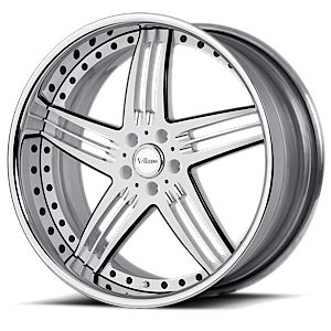 VSW White and Polished Black 5 lug