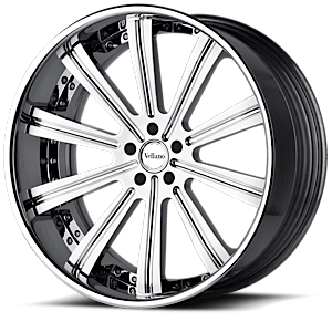 VTi concave Chrome 5 lug