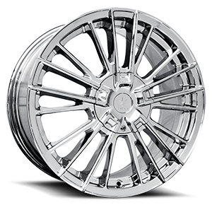 Verde Wheels V10 Influx 5 Chrome