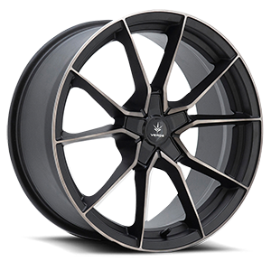 Verde Wheels V18 Verve 5 Satin Black Machined Dark Tint