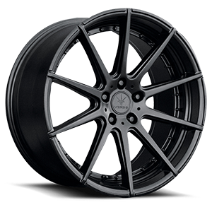 Verde Wheels V20 Insignia 5 Satin Black