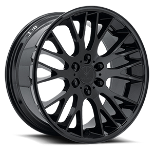 Verde Wheels V22 Duo 6 Gloss Black