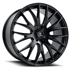 Verde Wheels V27 Saga 5 Satin Black