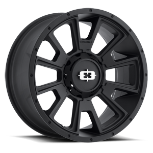 391 Rebel Satin Black 6 lug